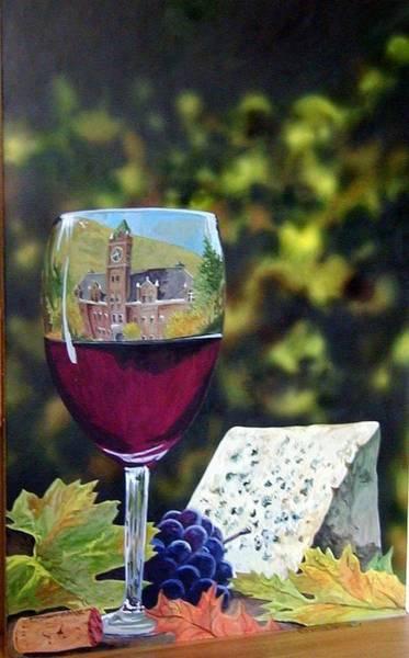 Painting - Wine Tasting by Tim  Joyner