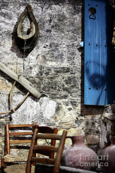 Wall Art - Photograph - Winery In Ayios Neophytos by John Rizzuto