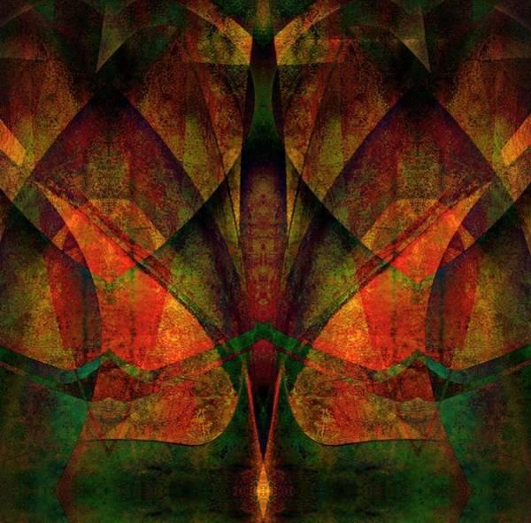 Digital Art - Winged Symmetry by Amanda Moore