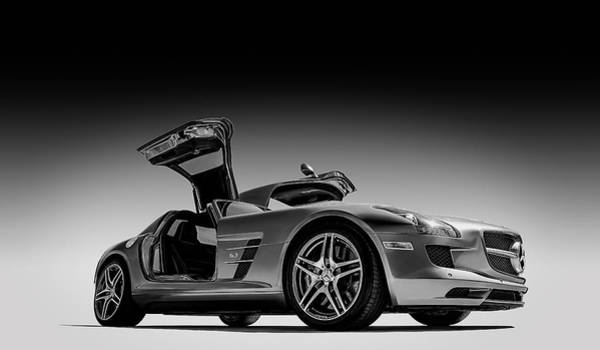 Wall Art - Digital Art - Mercedes-benz Sls Amg by Douglas Pittman