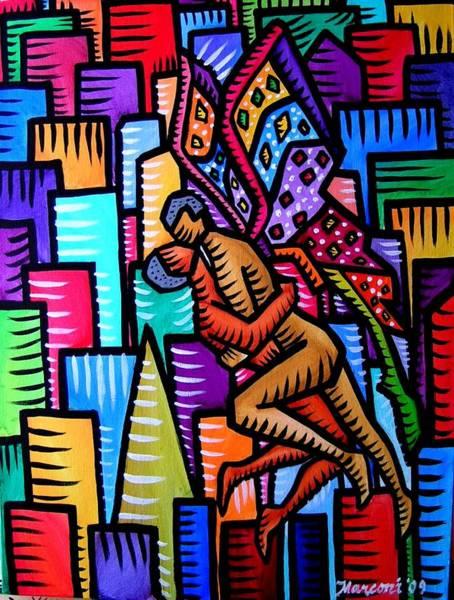 Wings Of Love Art Print