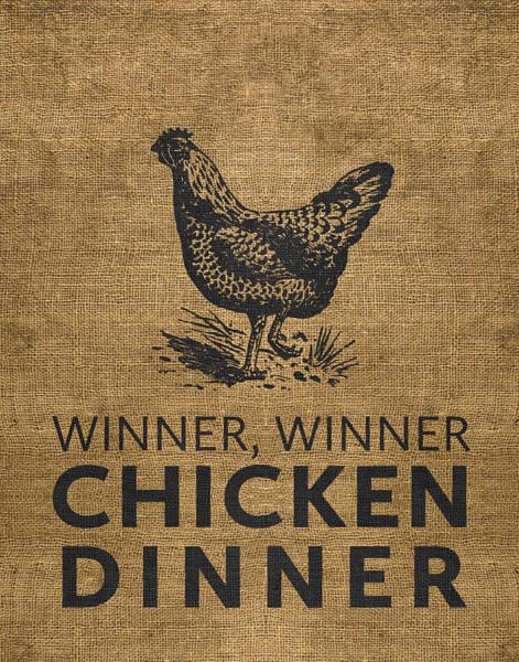 Digital Art - Winner Winner by Nancy Ingersoll
