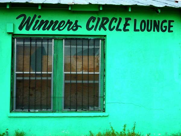 Photograph - Winner's Circle Lounge by Gia Marie Houck