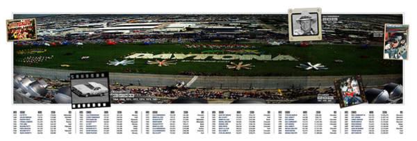 Hemi Photograph - Winners Of The Daytona 500 by Retro Images Archive