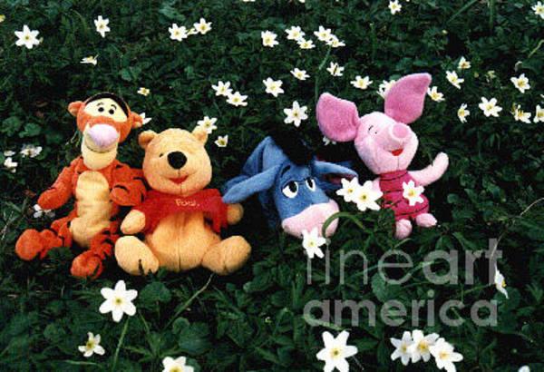 Tigger Wall Art - Photograph - Winnie The Pooh And Friends by Randi Grace Nilsberg