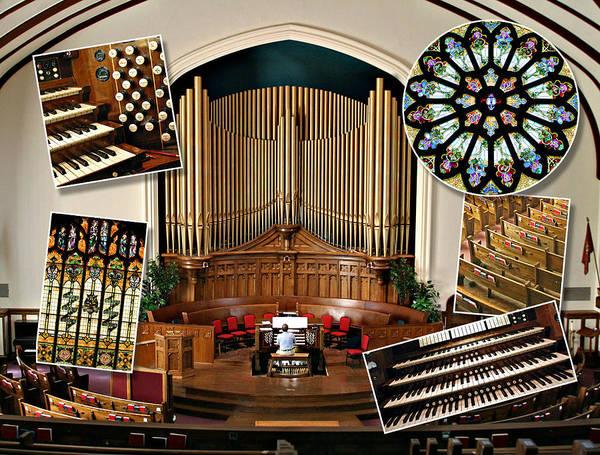 Photograph - Winnipeg Church Montage by Jenny Setchell