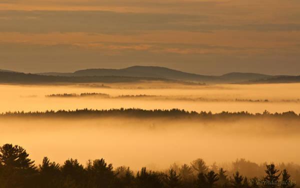 Photograph - Winnipesaukee Fog by Brenda Jacobs
