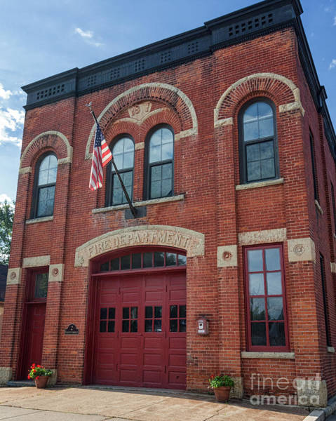 Photograph - Winona East End Fire Station by Kari Yearous