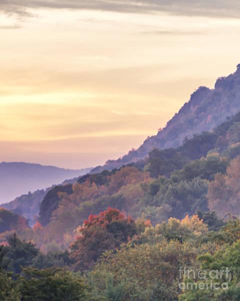 Photograph - Winona Fall Colors Slopes by Kari Yearous