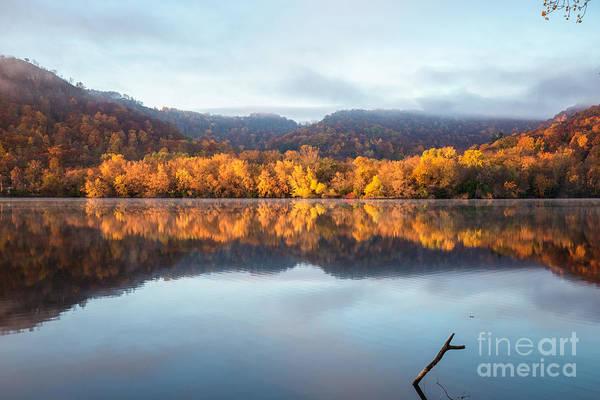 Photograph - Winona Mn Fall Colors 2x3 by Kari Yearous