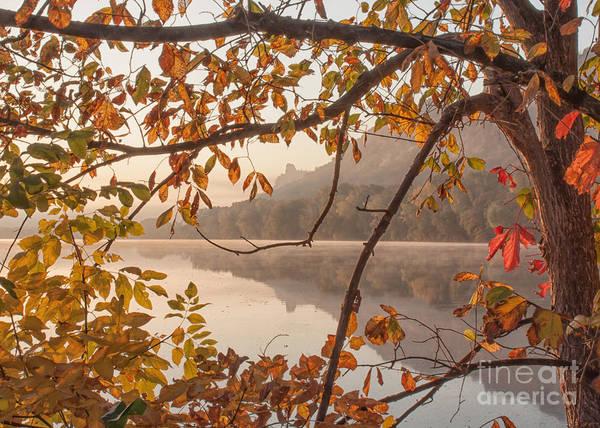Photograph - Winona Photograph Sugarloaf Through Leaves by Kari Yearous