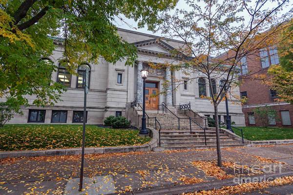 Photograph - Winona Public Library by Kari Yearous