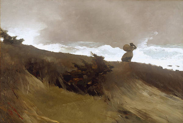 Wall Art - Painting - Winslow Homer West Wind by Winslow Homer