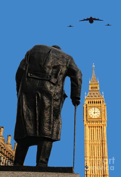 Hs Photograph - Winston Churchill by Jasna Buncic