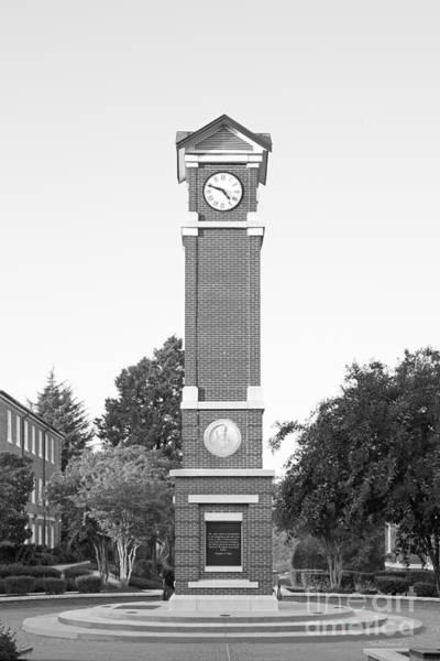 Photograph - Winston- Salem State University Clock Tower by University Icons