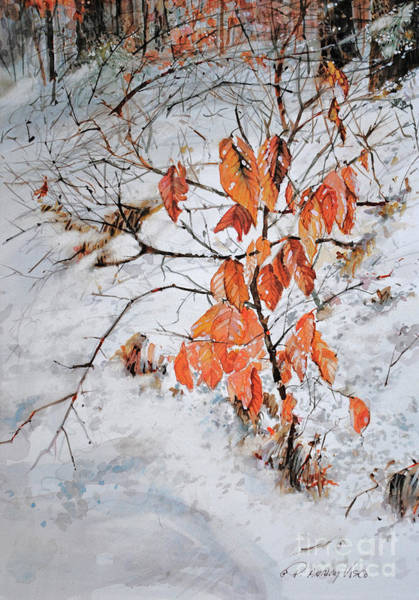 Painting - Winter Ash by P Anthony Visco