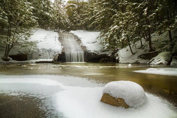 Wall Art - Photograph - Winter At Beede Falls by Robert Clifford
