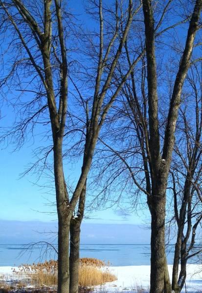 Wall Art - Photograph - Winter At Lake Huron by Rhonda Humphreys