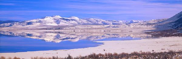 Escarpment Photograph - Winter At Mono Lake, California by Panoramic Images
