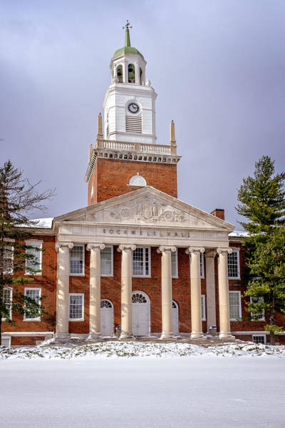 Photograph - Winter At Rockwell Hall by Chris Bordeleau