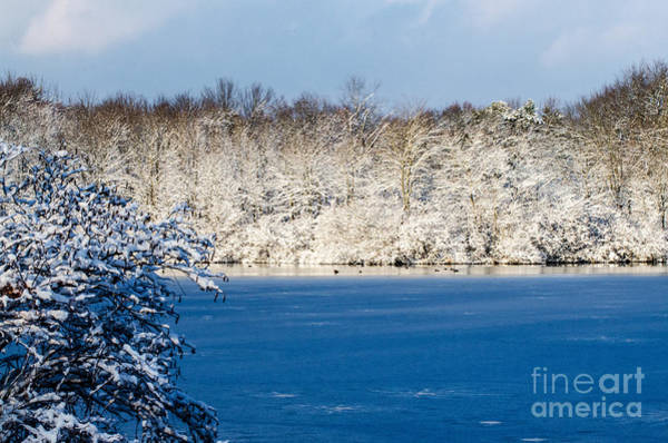 Brinton Photograph - Winter At The Lake by Judy Wolinsky