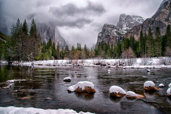 Photograph - Winter At Valley View by Cat Connor