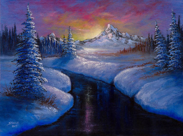 Painting - Winter Beauty by Chris Steele