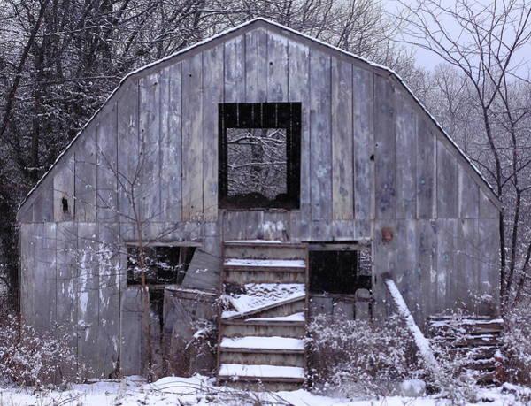 Robert Kirby - Winter Coat for Weathered Barn
