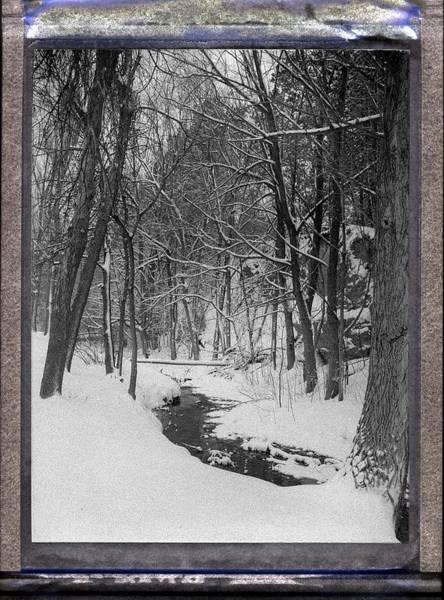 Photograph - Winter Creek by HW Kateley