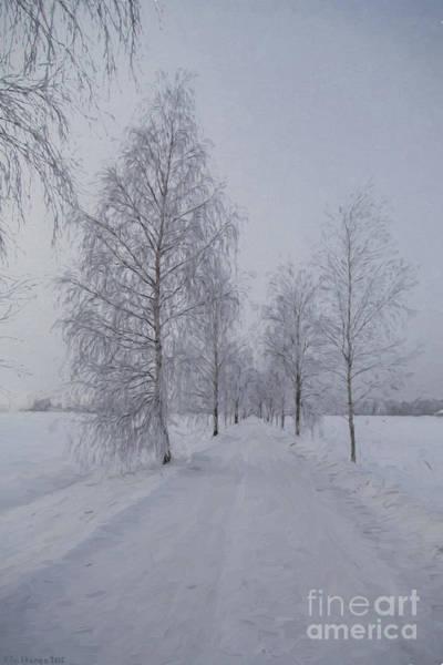 Atmospheric Painting - Winter Day by Veikko Suikkanen