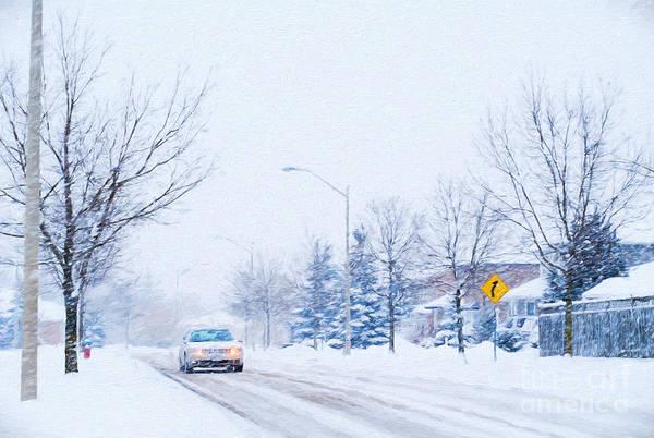 Photograph - Winter Drive by Les Palenik