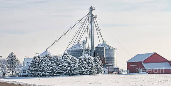 Wall Art - Photograph - Winter Farm  7365 by Jack Schultz