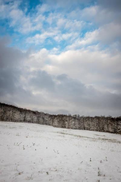 Photograph - Winter Field by Chris Bordeleau
