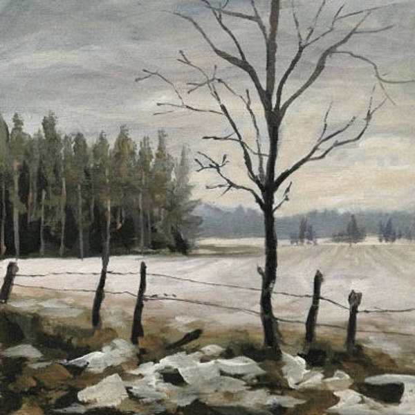 Painting - Winter Fields by Ric Nagualero