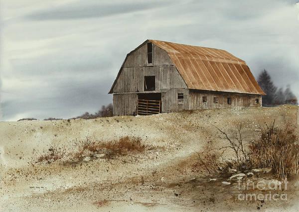 Painting - Winter Flurries by Monte Toon