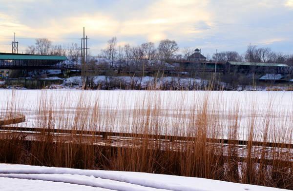 Photograph - Winter Fox River by Milena Ilieva