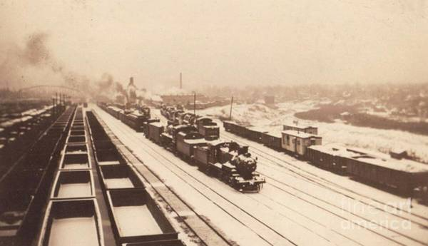 Photograph - Winter Freight by David Neace