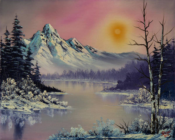 Wall Art - Painting - Morning Frost by Chris Steele