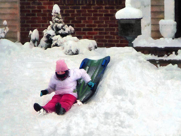 Photograph - Winter Fun by Susan Savad
