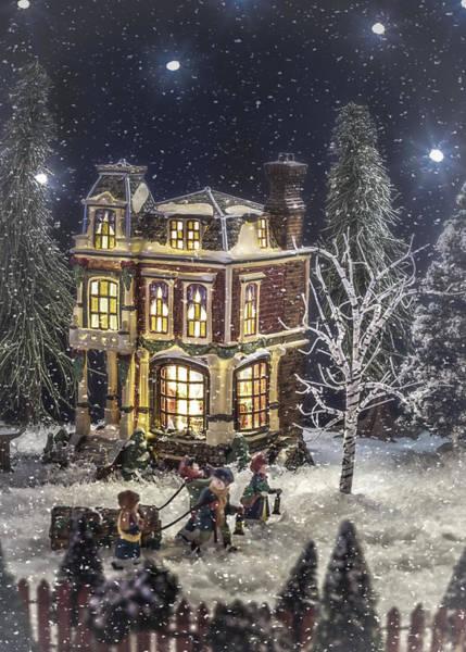 Weihnachten Photograph - Winter Glow by Caitlyn  Grasso