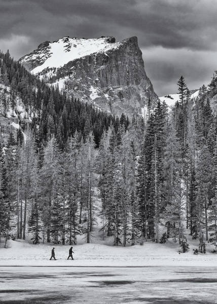 Photograph - Winter Hike by Darren  White