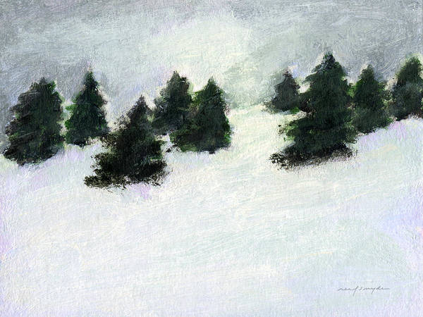 Painting - Winter Hill by J Reifsnyder