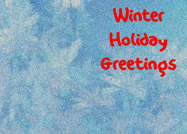 Thanksgiving Dinner Digital Art - Winter Holiday Greetings by Bruce Iorio