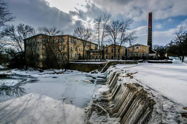 Photograph - Winter In Cedarburg by Randy Scherkenbach