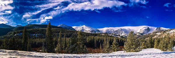 Photograph - Winter In Colorado by OLena Art - Lena Owens