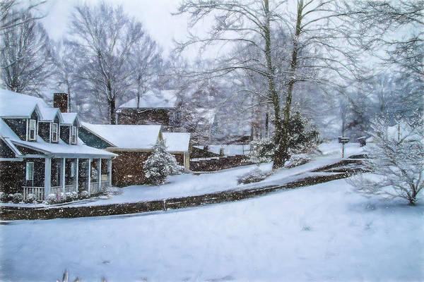 Photograph - Winter In Dixie - Snowy Winter Landscape by Barry Jones