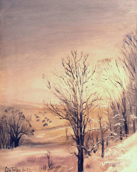 Painting - Winter In Jo Daviess by Art By Tolpo Collection