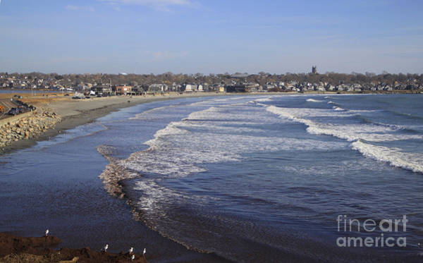 Photograph - Winter In Newport by Michael Mooney