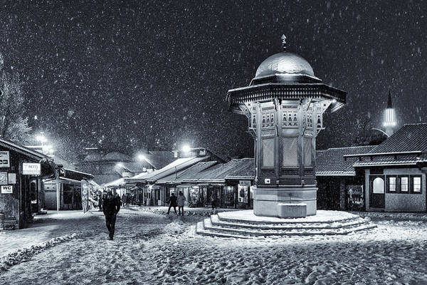 Cold Weather Wall Art - Photograph - Winter In Sarajevo by Bez Dan