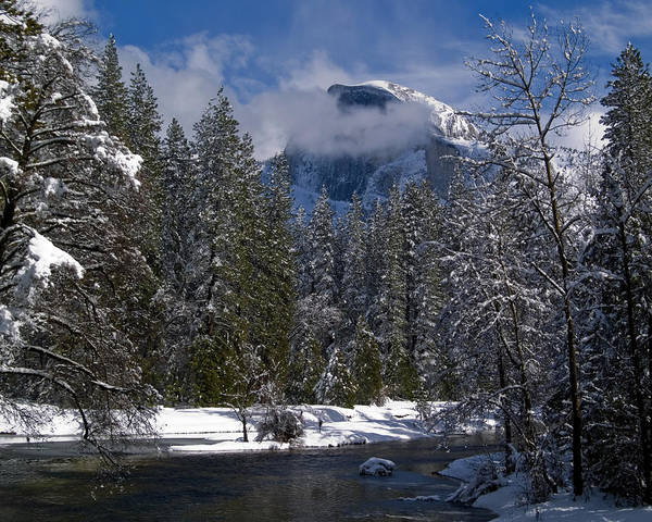 Dome Peak Photograph - Winter In The Valley by Bill Gallagher